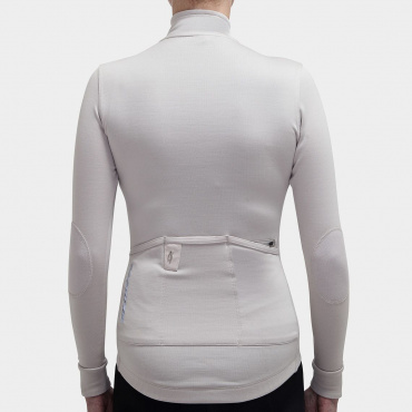Long Sleeve Jersey Silver Grey