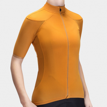 I7A3O7E Echelon jersey Golden Oak Women