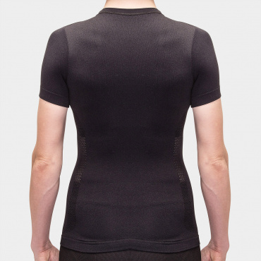 I7A3O7E Echelon SS Baselayer Black Women