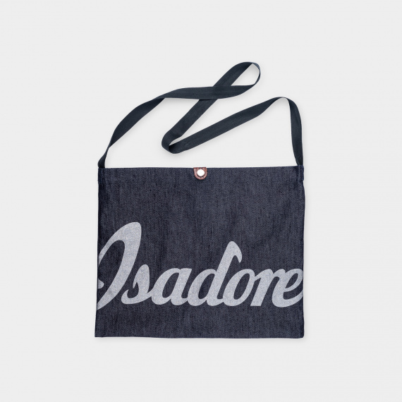 Denim Musette Bag