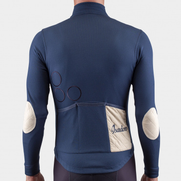 Long Sleeve Shield Jersey Midnight Navy